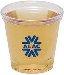 1oz Clear Plastic Shot Glass